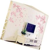 Flower Wall Stickers Blossom Removable Wall Decal Sticker