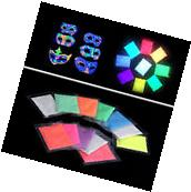 12 Colors Fluorescent Super Bright Glow-in-the-Dark Powder