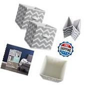 Foldable Fabric Storage Containers Drawers Cloth Bin Home Decor Cube Organizers