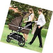 2 In1 Foldable Baby Stroller Kids Travel Newborn Infant