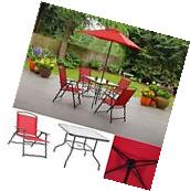 Outdoor Patio Dining Furniture Set Folding Table And Chairs