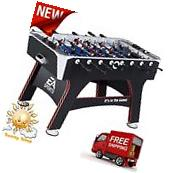 "56"" Foosball Table Game Room Stability And Durability EA"