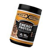 Body Fortress Energy Protein Powder, Mocha Cappuccino, 1.25