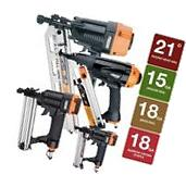 Framing Finishing Nailer Kit Pneumatic Air Nail Gun Brad