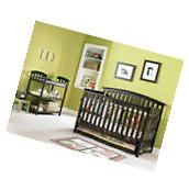 Graco Freeport 4-in-1 Convertible Fixed-Side Crib, Choose