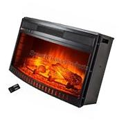 28 in. Freestanding Electric Fireplace Insert Heater with