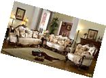 French Provincial Formal Antique Style Living Room Furniture