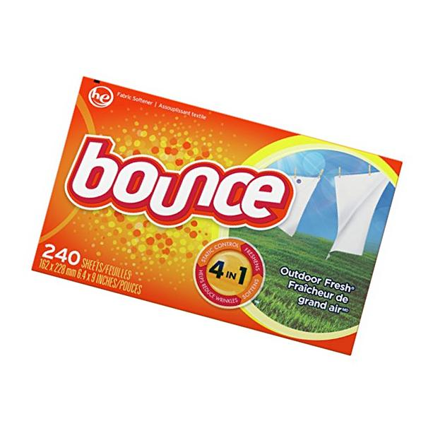 BOUNCE OUTDOOR FRESH DRYER SHEETS FABRIC SOFTENER TIDE TO GO