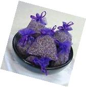 100% Fresh Organic Lavender Sachets made with Blue Organza