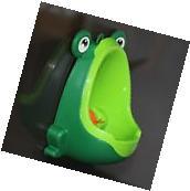 Frog Potty Kid Child Toddler Boy Baby Bathroom Toilet Urinal