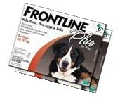 Merial Frontline Plus for Dogs, 89 to 132-Pound, 12-Pack