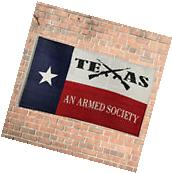 New Design 3'x5' Ft Texas An Armed Society Flag Polyester