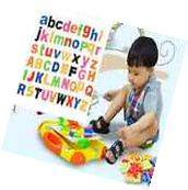 Fun 52 MAGNETIC Lower/Upper Case ALPHABET LETTERS Childrens