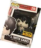 Funko Pop Animation #219 L  Death Note Hot Topic Exclusive
