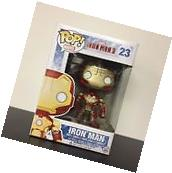 Funko POP Marvel Iron Man 3 Iron Man Vaulted Mint Box