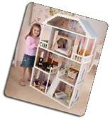 Barbie Size Dollhouse Furniture Girls Playhouse Dream Play
