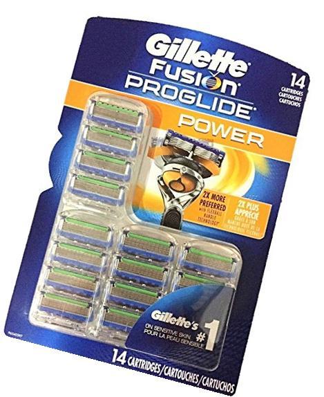 Gillette Fusion Proglide Power Cartridge 6 Count Unit