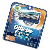 Gillette Fusion Proglide Refill Razor Blade Cartridges, 8 Ct