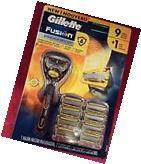 Gillette Fusion Proshield Razor Handle & 9 Cartridges 5
