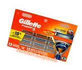 GILLETTE FUSION5  RAZOR BLADES 12 Cartridges,100%AUTHENTIC,