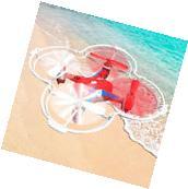 Goplus Fx-4v 2.4G 5CH RC Quadcopter Drone w/ Voice Control