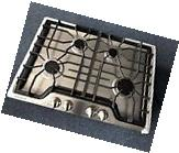 Frigidaire Gallery 30 in. Gas Cooktop in Stainless Steel