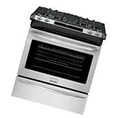 """Frigidaire GALLERY Stainless Steel 30"""" Convection Gas Slide"""