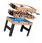 """MD Sports Game Table Combo 3 in 1 Sports 48"""" Air Hockey"""