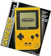 Gameboy Pocket System Yellow