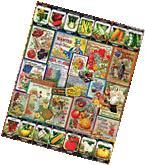 Garden Seeds - 1000 Piece Puzzle -White Mountain Puzzles