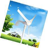 12V Garden Wind 400W Wind Turbine Generator 3 leaves Energy