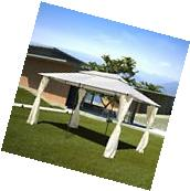 10' x 13' Outdoor Gazebo Party Tent Canopy Backyard Pergola