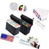Professional General 168 Color Touch Five Graphic Marker Pen