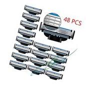 48PCS Generic Replacement Blades Cartridges for Gillette