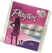 PLAYTEX GENTLE GLIDE 360 UNSCENTED ULTRA ABSORBENCY 18