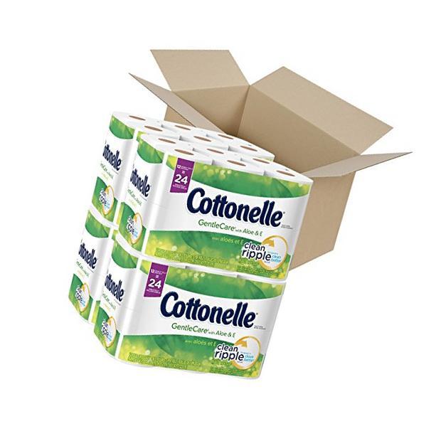 Cottonelle GentleCare with Aloe & Vitamin E Double Roll
