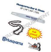 Genuine Husqvarna Bar & Chain 20