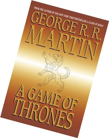 By George R.R. Martin: A Game of Thrones