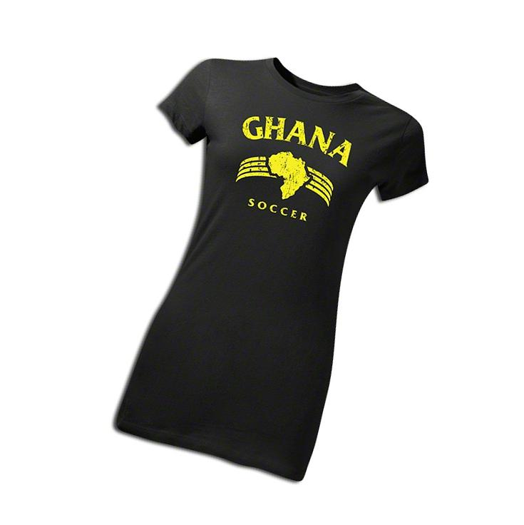 Ghana Women's T-Shirt Black S