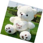 50cm Giant large huge big teddy bear soft plush toy I Love