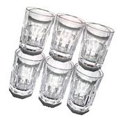 Set of 6 Libbey Gibraltar Stonehenge 12.5 oz Beverage Glass