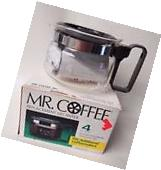 Mr. Coffee Glass Decanter Four Cup Capacity Model D4 NEW