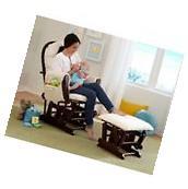 Rocker Glider Chair And Ottoman Microfiber Baby Nursery