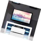 High Gloss LED Shelves TV Stand Unit Cabinet w/Drawer