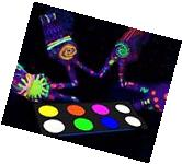Glow in the dark Face Paint Body Paint Blacklight Reactive