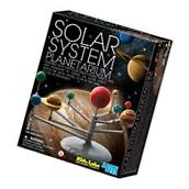 Glow-in-the-dark: Solar System Planetarium Model