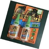 Gorilla Glue Super Glue Gel 7600101 BIG 20 Gram Bottle No
