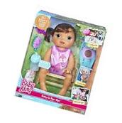 Baby Alive Baby Go Bye Bye Interactive Doll - Brunette