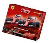 Carrera GO!!! Red Champions 1/43 analog slot car race set
