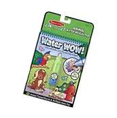 Melissa & Doug On the Go Water Wow! Water-Reveal Activity Pad - Animals New